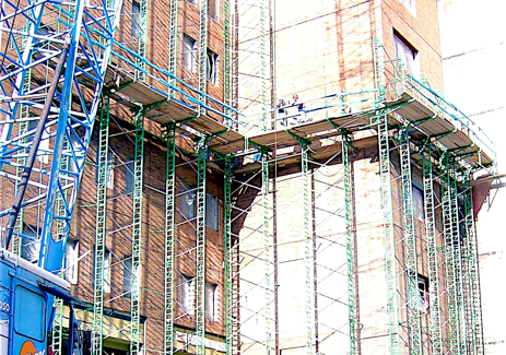 Scaffolding Rental unit from Southwest Scafolding.