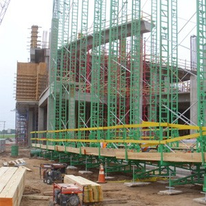Non Stop Scaffolding for Sale or Rent. Crank-up scaffolding. Elevated-platform scaffolding