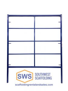 "5' X 6'4"" Safeway Style Double Box Ladder frame scaffolding for sale"
