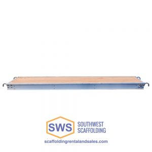 Aluminum/Plywood Scaffold Board - Side View