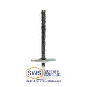 Screw Jack with Base Plate for scaffolding