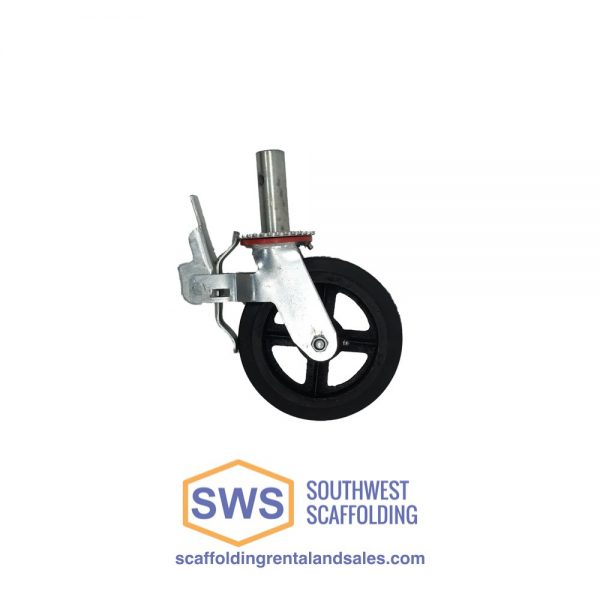 Caster wheel for scaffolding for sale at Southwest Scaffolding