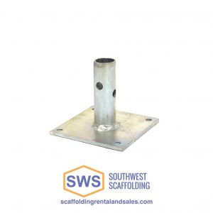 scaffolding base plate for sale at Southwest Scaffolding