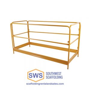 Steel Guardrail Assembly for Baker Scaffold