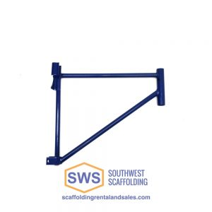 Side bracket for scaffolding platform. Southwest Scaffolding sells and rents scaffolding, boards and accessories with nationwide delivery.