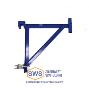 Angle Iron end bracket for scaffolding platform