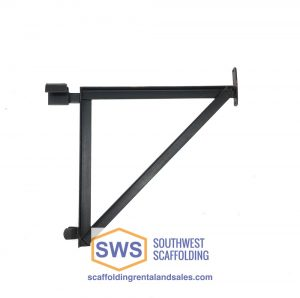 "23"" Angle Iron Saddle Side Bracket for Scaffolding"