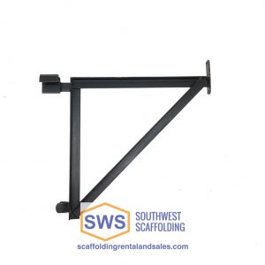 "23"" Angle Iron end bracket for scaffolding 