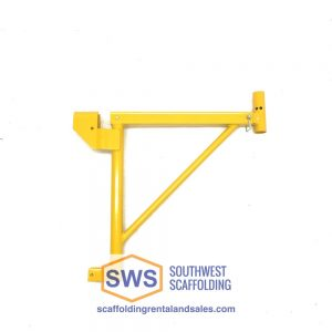"20""-30"" Adjustable Saddle Square Tube Side Bracket for Scaffolding. Southwest Scaffolding sells and rents scaffolding, boards and accessories with nationwide delivery."