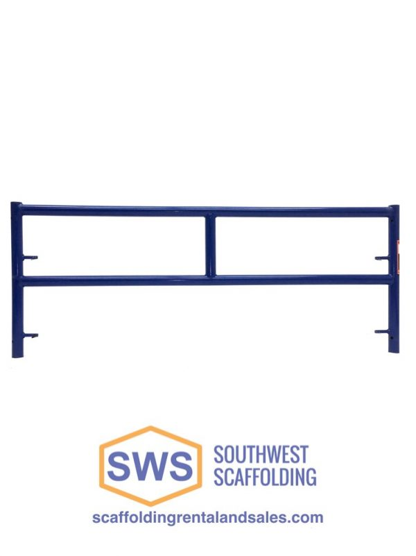 Single Ladder Safeway Style Scaffolding Frame for sale. Southwest Scaffolding sells and rents scaffolding, boards and accessories with nationwide delivery.