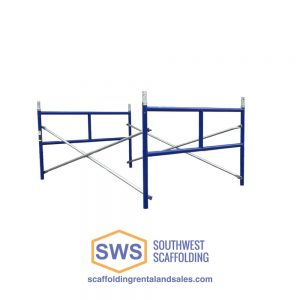 Set of Scaffolding | 5ft X 3ft | S-Style | Ladder