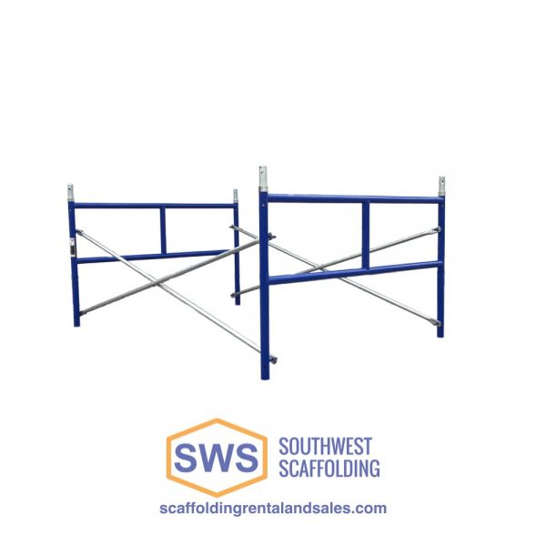 "Set of Safeway Scaffolding frames for sale 42""x3'"