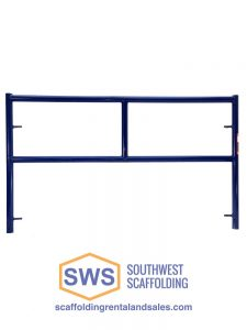 Single Ladder Safeway Style Scaffolding Frame