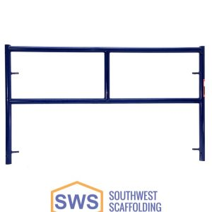 Single Ladder Safeway Style Scaffolding Frame. Southwest Scaffolding sells and rents scaffolding, boards and accessories with nationwide delivery.