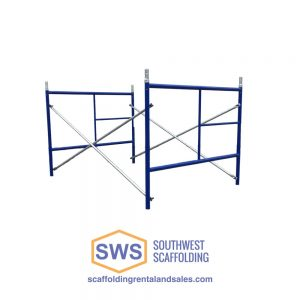 Set of ladder scaffolding for sale 5'x5'