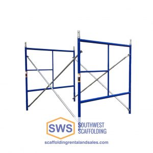 Set of Scaffolding | 5ft X 5ft | S-Style | Single Ladder