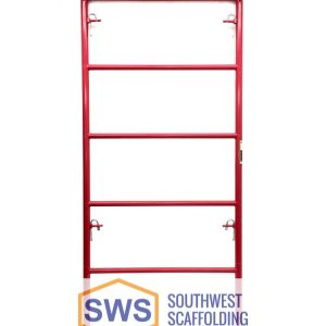 Waco-Style Ladder Scaffolding Frame. Southwest Scaffolding sells and rents scaffolding, boards and accessories with nationwide delivery.