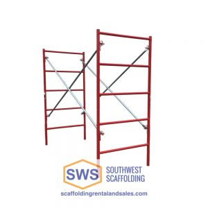 Set of Scaffolding | 3ft X6ft 7in | W-Style | Ladder Frame
