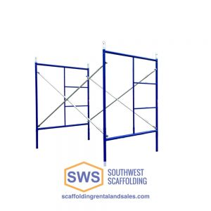Set of Scaffolding | 5ft x 6ft 4in | S-Style | Double Ladder