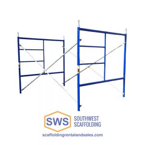 Set of Scaffolding | 5ft X 5ft | S-Style | Double Ladder