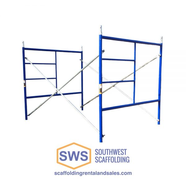 Blue Scaffolding for Sale at Southwest Scaffolding