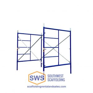 Set of ladder scaffold frames for sale at southwest scaffolding