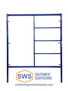 Triple Ladder Scaffolding Frame for Sale. Southwest Scaffolding sells and rents scaffolding, boards and accessories with nationwide delivery.