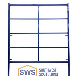 "5' X 6'4"" Safeway Style Double Box Ladder scaffolding Frame. Southwest Scaffolding sells and rents scaffolding, boards and accessories with nationwide delivery."