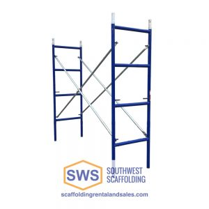 Set of Painters Scaffolding