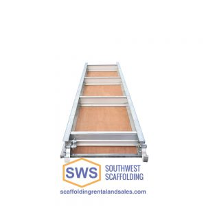 Aluminum/Plywood Scaffold Plank Bottom