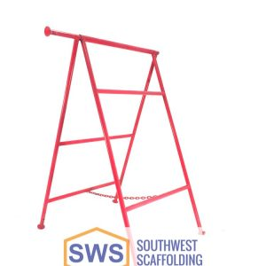 Folding A-Frame Scaffolding. Bolt-on ladder bracket to secure ladder to scaffolding. Safeway Style Walk Thru Stucco Scaffolding Frame. Southwest scaffolding sells scaffolding, boards and accessories nationwide.