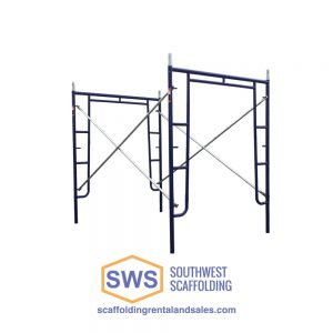 Safeway Style Walk Thru Scaffolding Frames for sale. Southwest scaffolding sells scaffolding, boards and accessories nationwide.