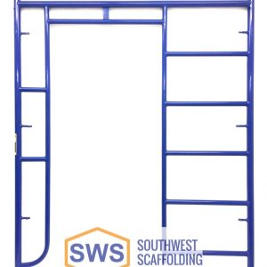 Ladder/Walk Thru Combo Scaffolding Frame. Bolt-on ladder bracket to secure ladder to scaffolding. Safeway Style Walk Thru Stucco Scaffolding Frame. Southwest scaffolding sells scaffolding, boards and accessories nationwide.
