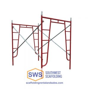 Set of Scaffolding | 5ft X 6ft 7in | W-Style | Walk-Thru