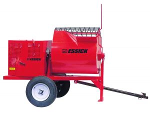 12 Cu Ft Gasoline Powered Essick Mortar Mixer