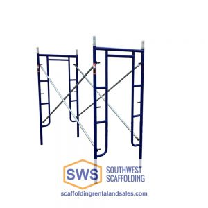 Set of Scaffolding | 3ft X 6ft 4in | S-Style | Walk-Thru
