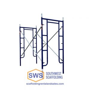 Set of Walk-Thru Stucco Scaffolding. Southwest scaffolding sells scaffolding, boards and accessories nationwide.