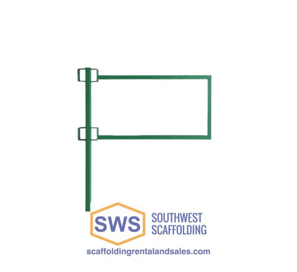 Laborer Guardrail End Panel for Non-Stop Scaffolding