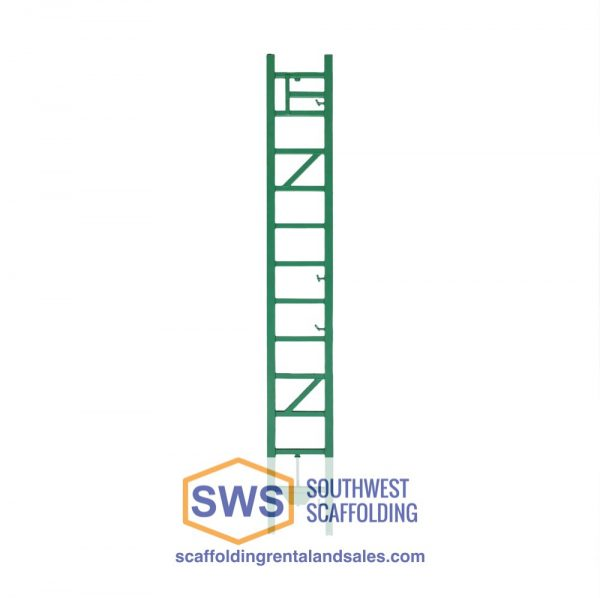 Tower Extension for Non-Stop Scaffolding