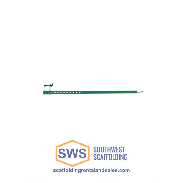 Wall Tie for Non-Stop Scaffolding. Southwest scaffolding sells Non-Stop Scaffolding, boards and accessories nationwide.
