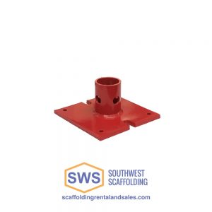 Base Plate for Concrete Shoring Frames. At Southwest Scaffolding we have shoring and scaffolding for any size construction project with delivery nationwide.