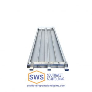 Aluminum Scaffold Board reinforced bottom, aluminum deck, aluminum plank