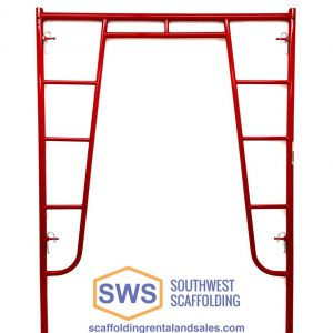 Waco Style Walk Through Scaffolding Frame for Sale. Southwest scaffolding sells scaffolding, boards and accessories nationwide.