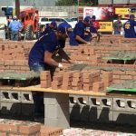 2017 Spec Mix Bricklayer 500 Contest, masonry competition. Southwest scaffolding sells masonry scaffolding, boards, accessories and equipment nationwide.