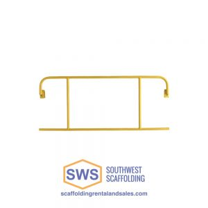 guardrail end panel for scaffolding