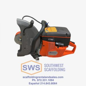 husqvarna K760 masonry saw for sale at Southwest Scaffolding