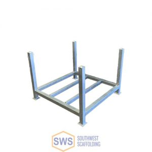 Storage Rack for Scaffolding