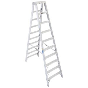 Werner Twin Aluminum Stepladder for Sale at Southwest Scaffolding