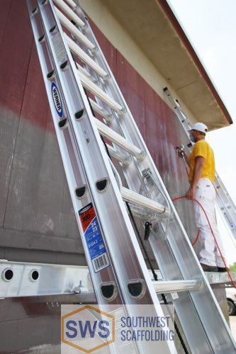 Extension ladder for painting for sale at Southwest Scaffolding